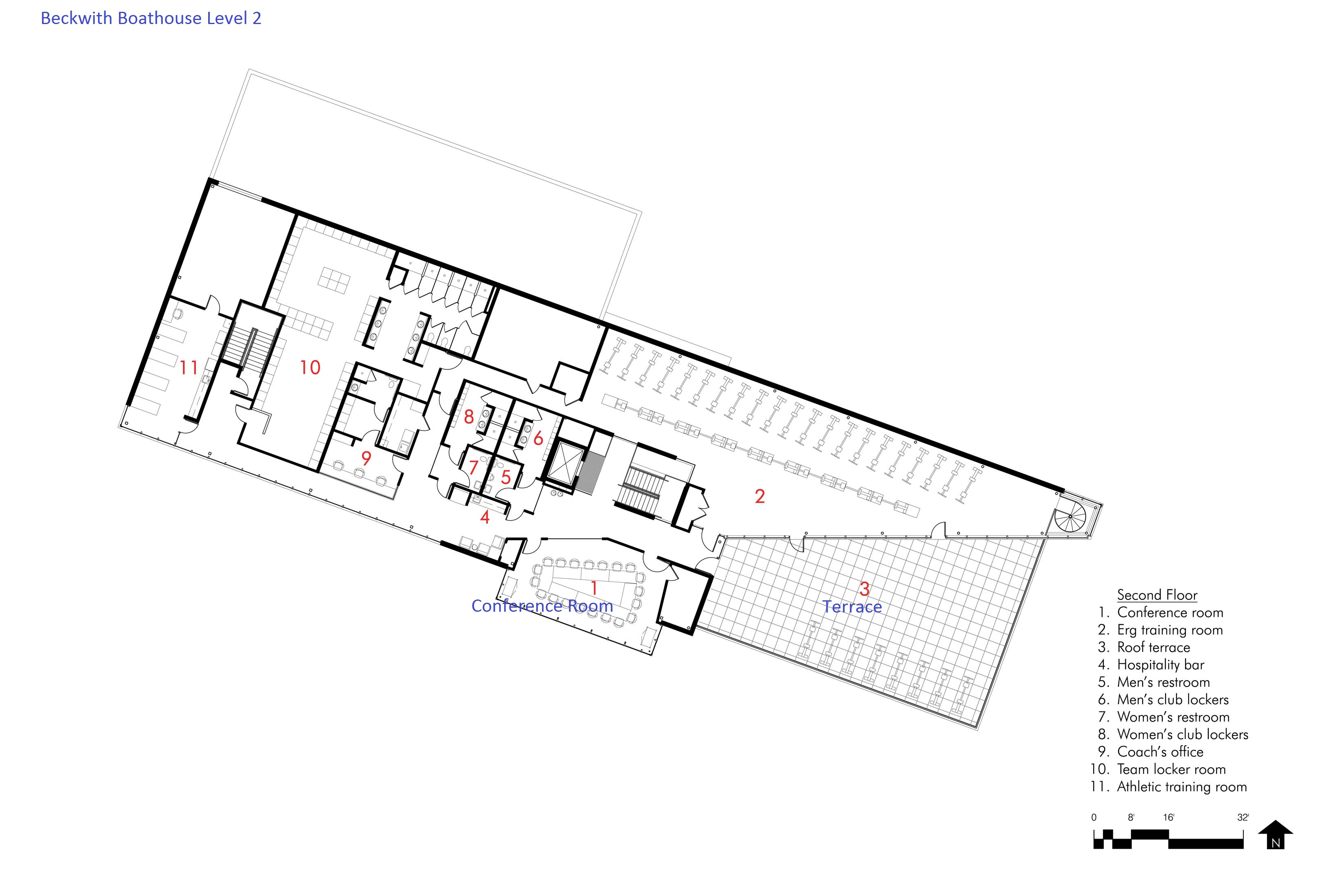 Beckwith Floor Plan (Level 2)